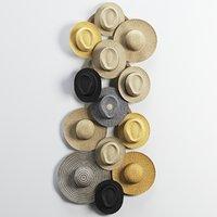 decorative hat set 3D model