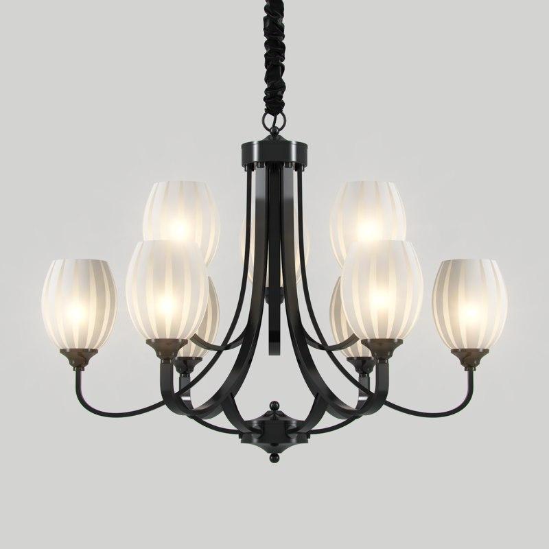 3D chandelier madrid 116 6