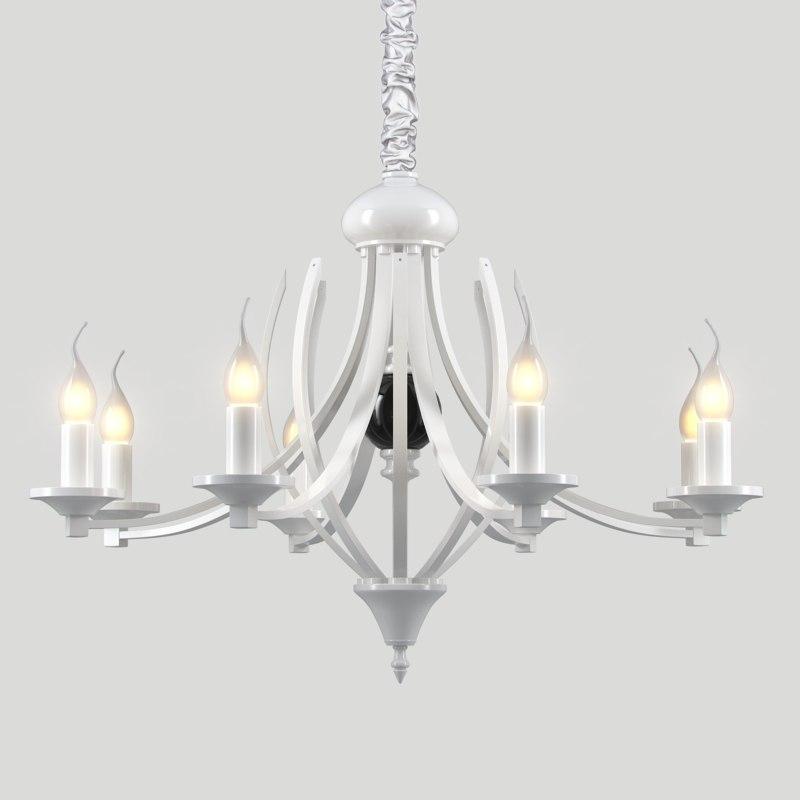 chandelier milano 115 8 3D
