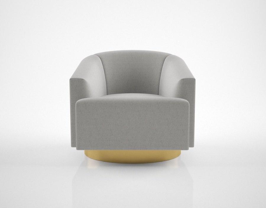 nela vetrina opera chair 3D model