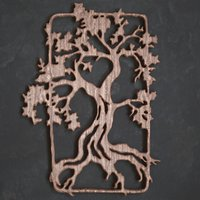 3dpanel tree 3D