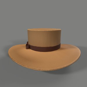 cowgirl hat 3D model
