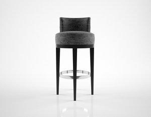 3D sofa chair barstool model