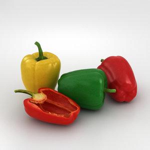 bell pepper model