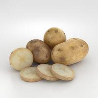 potato 3D