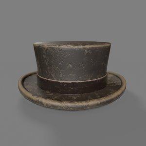 3D vagabond hat model
