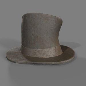 vagabond hat 3D model