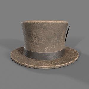 3D vagabond hat