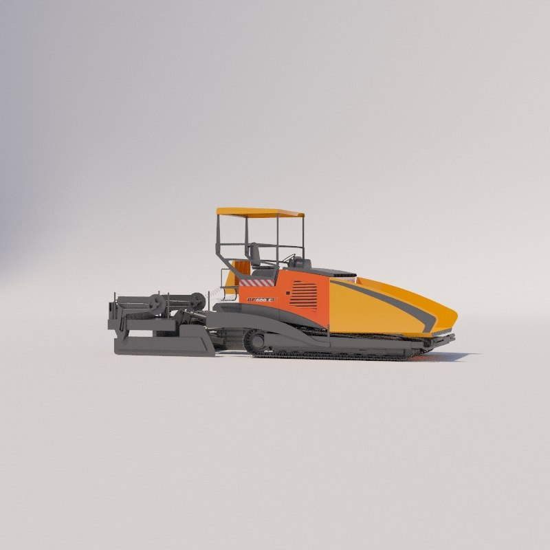 3D asphalt milling machine bomag