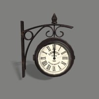 station clock model