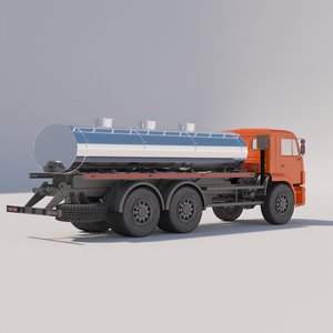 food tanker 3D model