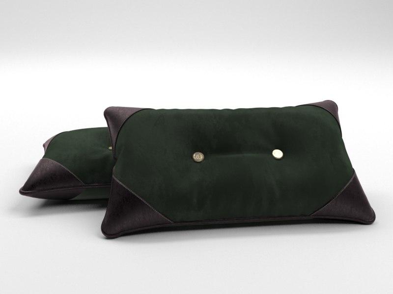 3D model british cushion