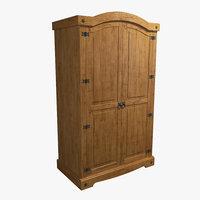 cupboard wood model