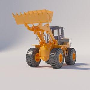 3D loader liebherr fr130