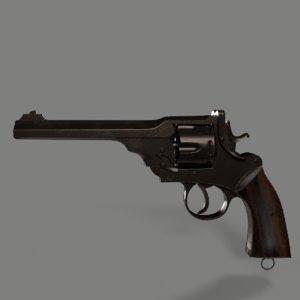 3D webley gun