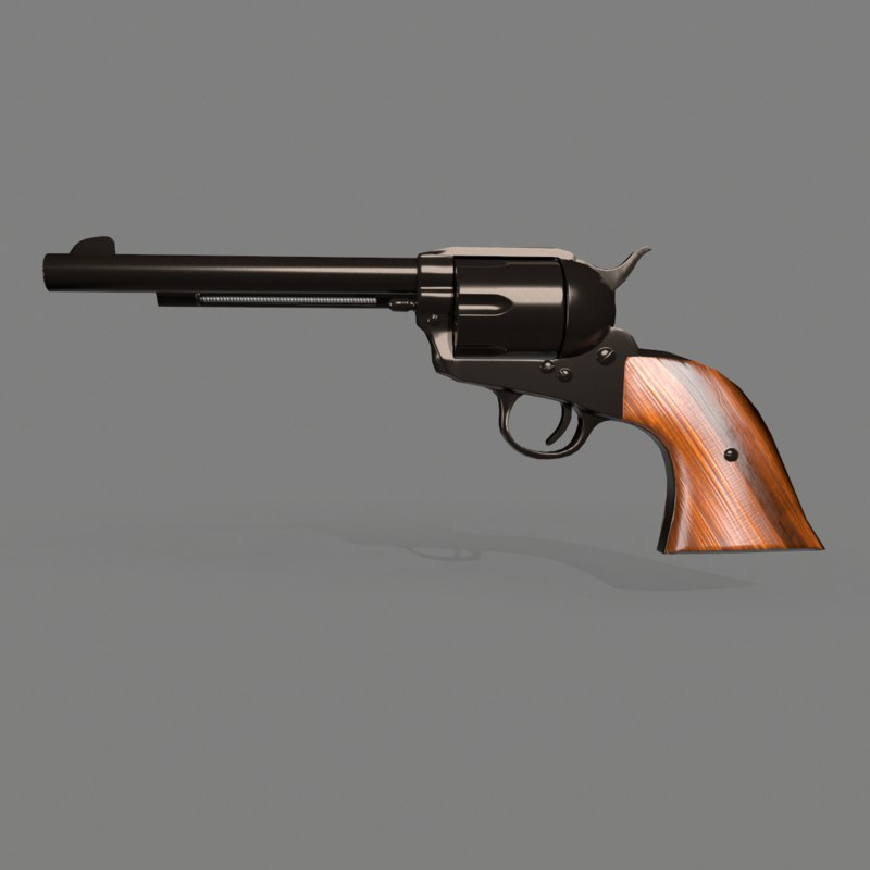 colt single action army model
