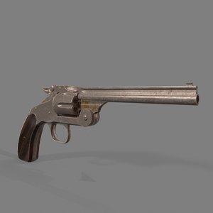 smith wesson gun 3D model