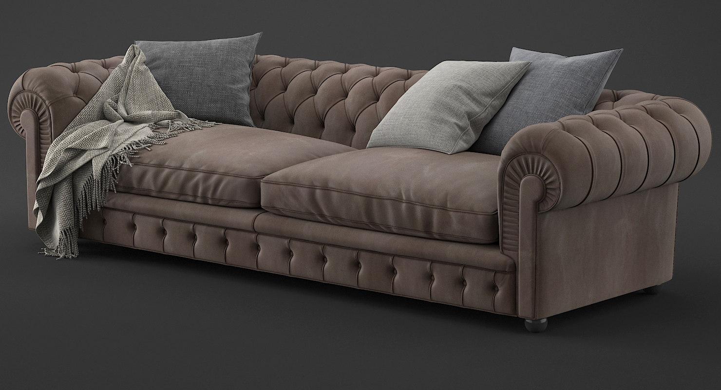 chester sofa 3D