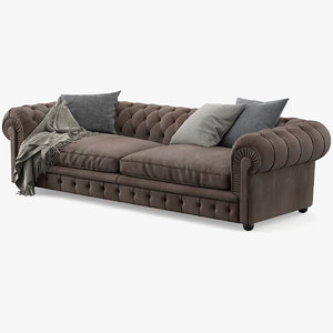 chester sofa 3D