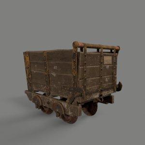 mining corf 3D model