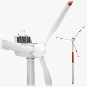 3D model lightwave wind turbine