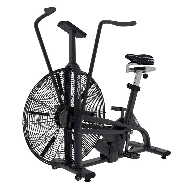 3D air bike assault