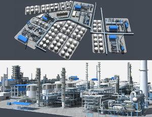 petrochemical 3D
