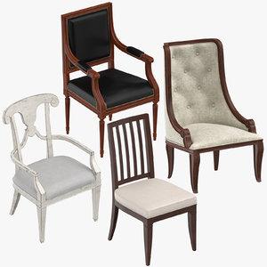 classical chair 3D