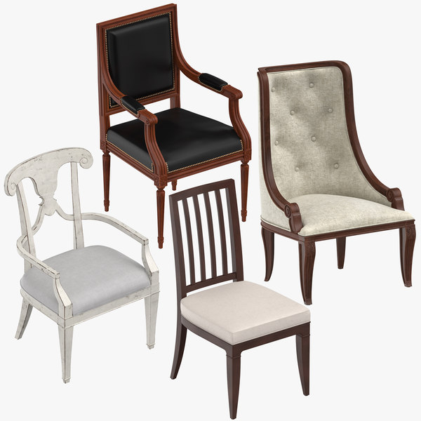 classical chair 3D
