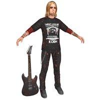 guitar player 3D model