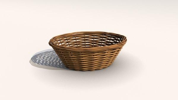 3D woven basket model
