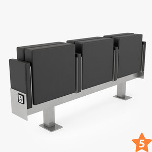 figueras 6061 microflex chair 3D model