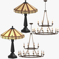 3D classical lights model