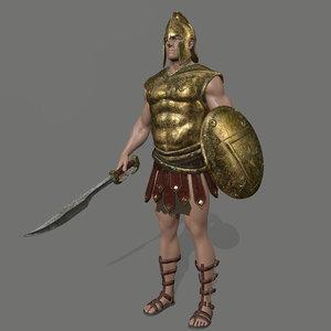 armor skirt helmet 3D