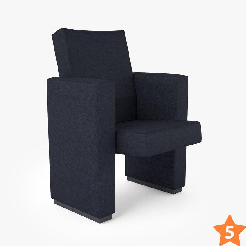 3D figueras 6076 flex conference chair