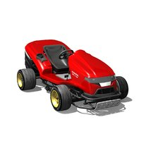3D mean mower model