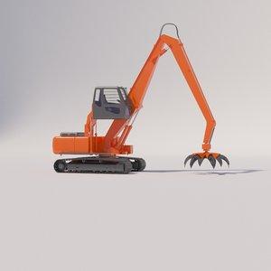 3D reloader doosan dx225lca