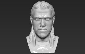 3D thor chris hemsworth bust