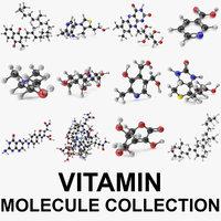 3D vitamin molecular c