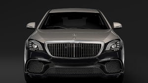 3D mercedes amg maybach s model