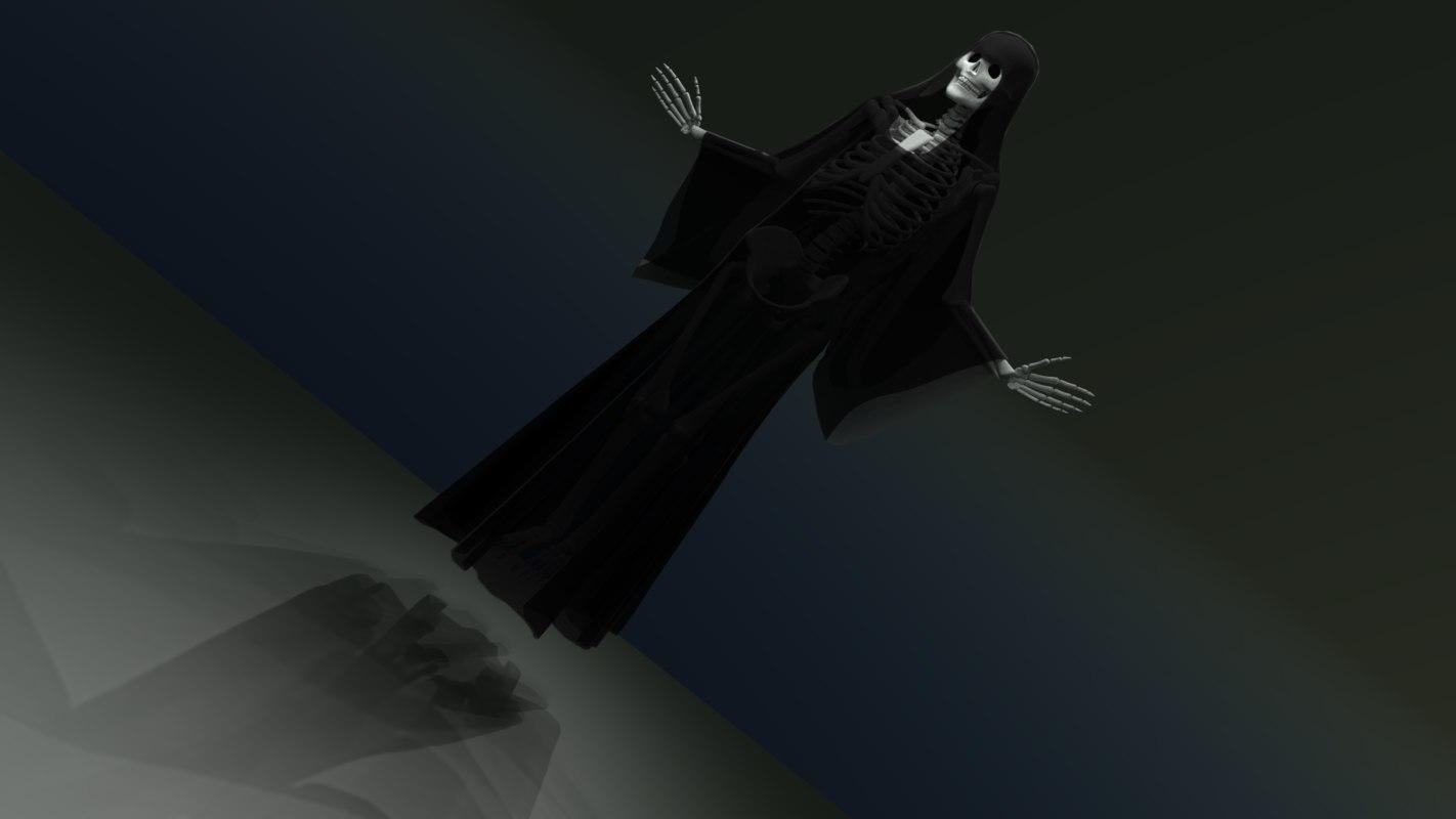 skeleton death model