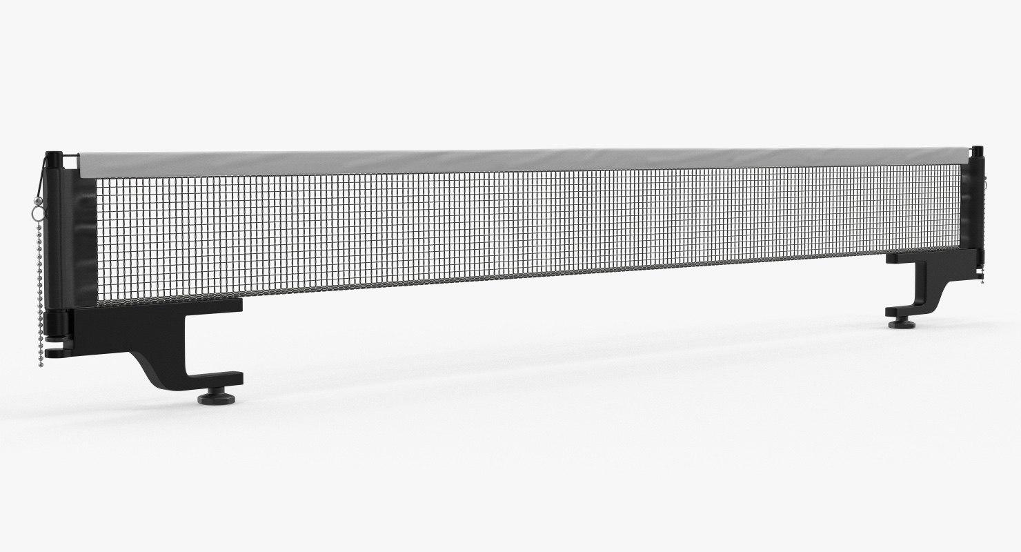 3D table tennis net