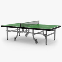 table tennis generic 3D model
