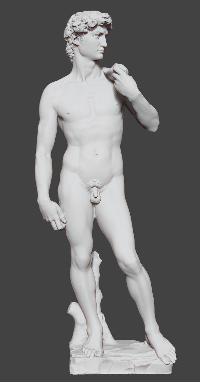 original michelangelo cnc 3D model