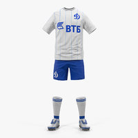3D soccer uniform dynamo
