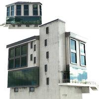 building apartment architecture 3D model