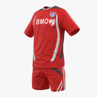 soccer uniform 2 3D