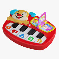 3D musical toy piano