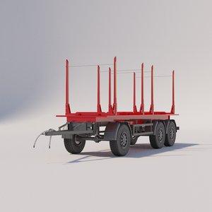 semitrailer gradimentovoz 3D