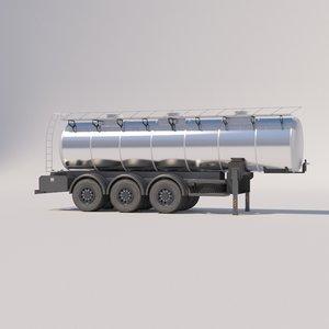 semitrailers cement trucks model